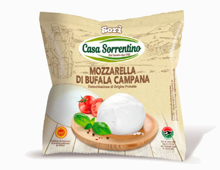Mozzarella di Bufala Campana Dop – Casa Sorrentino