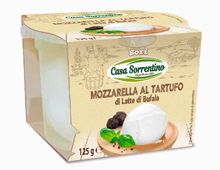 BUFFALO MOZZARELLA WITH TRUFFLES