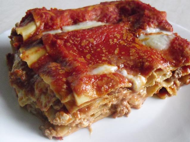 Neapolitan lasagne