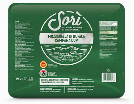 Mozzarella di Bufala Campana DOP – vascone